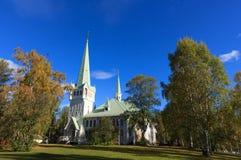 Nya Kyrka Stock Images