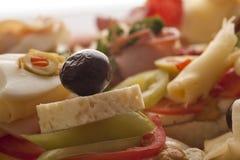 Nya läckra smörgåsar Royaltyfri Bild