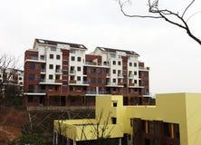 nya lägenheter Arkivbild