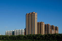 Nya lägenheter av Harbin arkivfoto