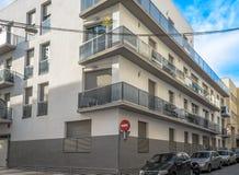Nya lägenheter i mitten av San Pedro Royaltyfria Bilder