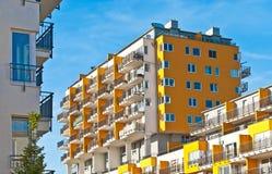 Nya lägenheter i Prague Royaltyfri Foto