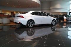 Nya Lexus ÄR 2013 Fotografering för Bildbyråer