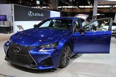 Nya Lexus ÄR sporten 2014 för 250 F Arkivfoton