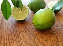 Nya limefrukter Arkivfoto