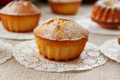 Nya ljusbruna muffin Royaltyfri Fotografi