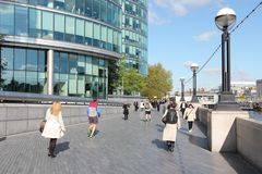 Nya London, UK Arkivbild