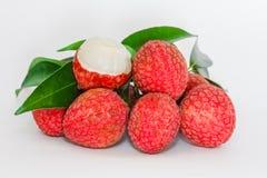 nya lychees Royaltyfria Bilder