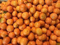 nya mandarines Arkivfoton