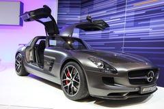 Nya Mercedes AMG 2014 Arkivfoton
