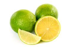Nya mogna limefrukter Royaltyfria Bilder