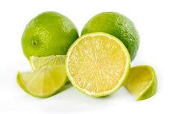 Nya mogna limefrukter Royaltyfri Foto