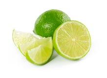 Nya mogna limefrukter Arkivbilder