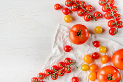 nya mogna tomater Royaltyfri Fotografi