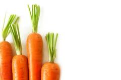 Nya morötter - omsorg om sund näring Royaltyfria Foton