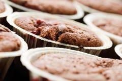 nya muffiner Royaltyfria Bilder