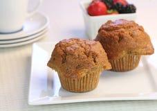 nya muffiner för morot Royaltyfri Foto