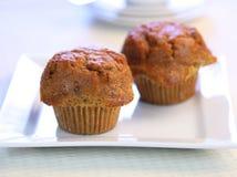 nya muffiner för morot Royaltyfri Fotografi