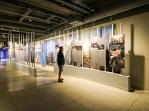 9/11 nya museum Fotografering för Bildbyråer