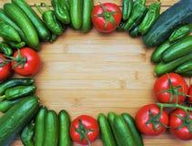 Nya och frasiga frukter och grönsaker Arkivfoton