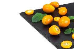 Nya orange Kumquats Royaltyfri Fotografi
