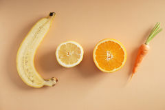 Nya orange signalgrönsaker Arkivbilder