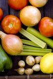 nya organiska grönsaker Royaltyfria Foton
