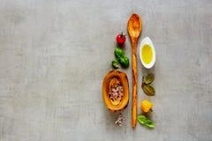 Nya organiska ingredienser Fotografering för Bildbyråer