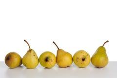 nya pears Royaltyfri Foto