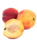 nya persikor Royaltyfri Bild