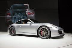 Nya Porsche 2016 911 Carrera S Arkivbilder
