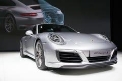 Nya Porsche 2016 911 Carrera S Arkivbild