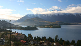 nya queenstown zealand Royaltyfri Fotografi
