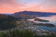 nya queenstown zealand Arkivfoto