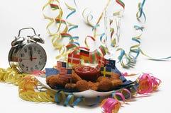 nya år för helgdagsafton Royaltyfri Fotografi