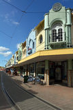 Nya Regent Street i Christchurch - Nya Zeeland Royaltyfria Foton