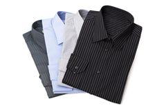 nya s skjortor för klänningmän Royaltyfria Bilder