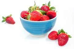 nya saftiga jordgubbar Royaltyfria Foton