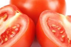 nya saftiga tomater Arkivfoton