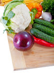 nya salladgrönsaker Fotografering för Bildbyråer