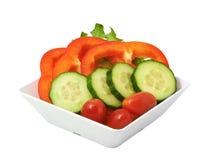 nya salladgrönsaker Arkivfoto