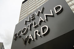 Nya Scotland Yard, London Arkivbilder