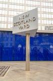 Nya Scotland Yard som bygger, London, Arkivfoto
