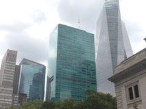 nya skyskrapor york Royaltyfri Foto
