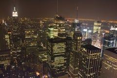 nya skyskrapor york Royaltyfri Bild