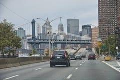 nya skyskrapor york för stad Arkivbilder