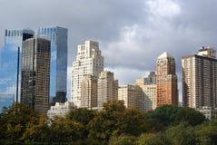 nya skyskrapor york för stad Royaltyfri Fotografi