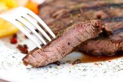 nya steakremsagrönsaker york Arkivfoto