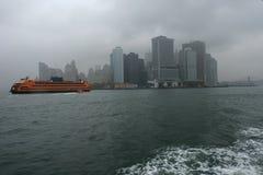 nya stormiga york royaltyfri bild