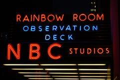 nya studior york för nbc Arkivfoto